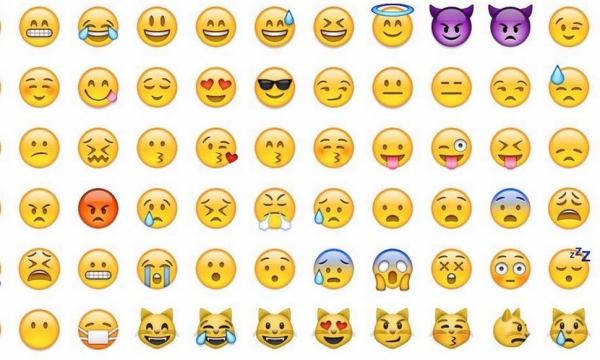 Các biểu tượng cảm xúc mà người dùng mạng xã hội hay sử dụng.