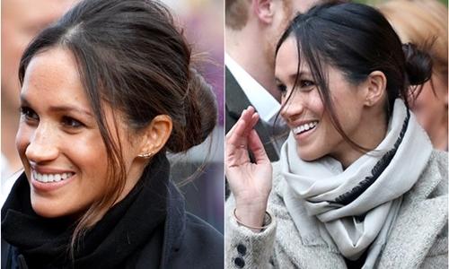 Mặc kệ truyền thống hoàng gia, Meghan vẫn theo style 'đầu bù tóc rối'