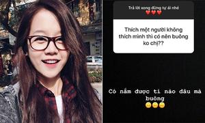 Độ 'mặn' bất ngờ của sao Việt khi bị 'hỏi xoáy' trên Instagram
