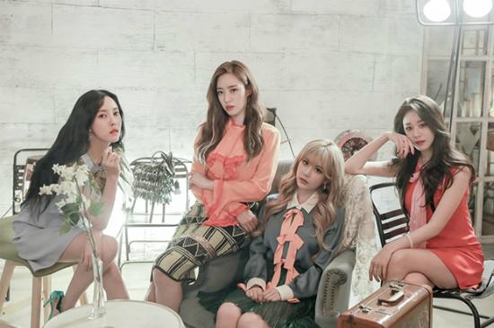 Nhìn 4 thành viên đoán tên nhóm nhạc Kpop - 3