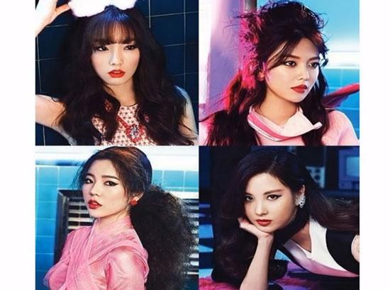 Nhìn 4 thành viên đoán tên nhóm nhạc Kpop - 9