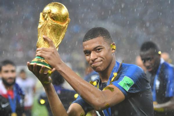Tiền đạo Kylian Mbappe, đội tuyển Pháp.
