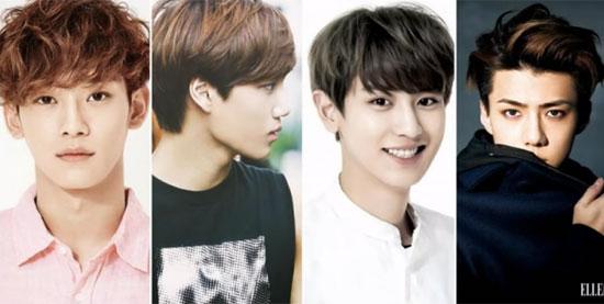 Nhìn 4 thành viên đoán tên nhóm nhạc Kpop - 2