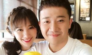 Trường Giang 'lỡ miệng' tiết lộ Trấn Thành sắp có con, phía Hari Won phủ nhận