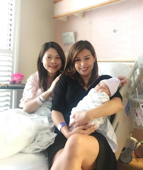 Thanh Thảo nhanh chóng lấy lại vẻ tươi tắn sau khi sinh em bé.