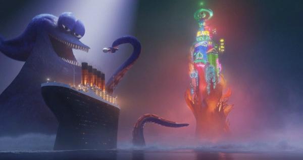 Phim có nhiều yếu tố bất ngờ với phần âm nhạc phấn khích.