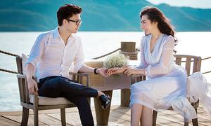 Bộ ảnh cưới nên thơ như phim ngôn tình của Á hậu Tú Anh