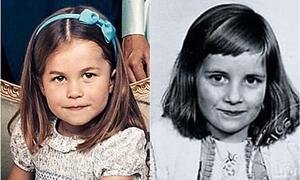 Công chúa Charlotte - bản sao nhỏ của Công nương Diana