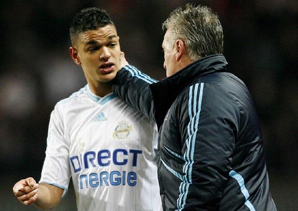 2 thầy trò khi còn làm việc với nhau ở CLB Marseille (2009-2011).