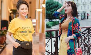 Nhập hội 'mỹ nhân hàng hiệu', Bảo Thanh vẫn bị chê sến