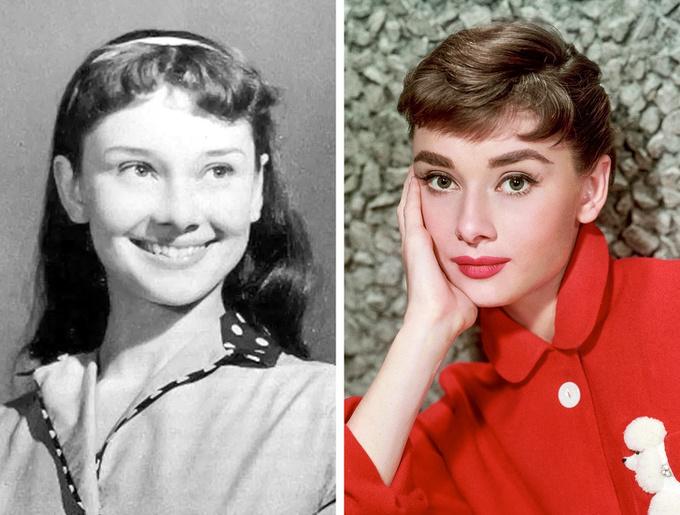 <p> Diễn viên Audrey Hepburn.</p>