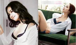 Những pha hở bạo nhức mắt của 'Thư ký Kim' Park Min Young