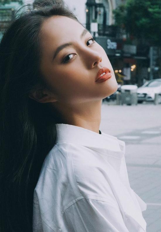 Người mẫu Thanh Vy.