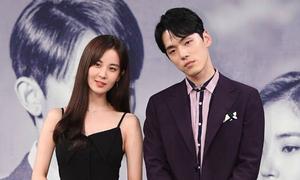 Bạn diễn của Seo Hyun mặt khó chịu, xa lánh nữ chính ở họp báo