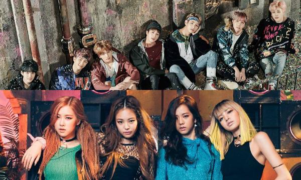BTS, Black Pink đều có thành tích tốt ở thị trường Mỹ.