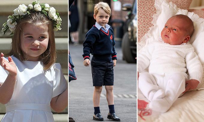 <p> Theo số liệu khảo sát mới đây của tạp chí <em>Reader's Digest</em>, công chúa Charlotte là thành viên có sức ảnh hưởng nhất đến nền kinh tế nước Anh trong số 3 người con của vợ chồng William-Kate.</p>