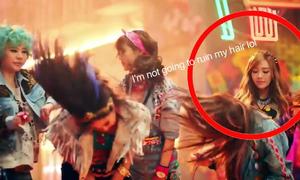 Nhặt sạn trong loạt MV Kpop