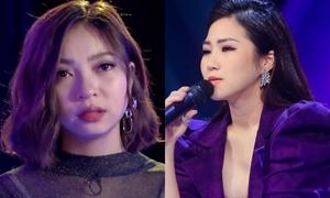Lấn sân ca hát, bạn gái Quang Hải U23 bật khóc vì Hương Tràm chê