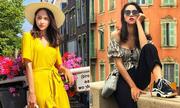 Hương Giang mang cả tủ đồ hiệu 'đẹp chất ngất' vi vu châu Âu