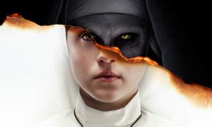 Poster gây trụy tim fan kinh dị của 'Ác quỷ ma sơ'