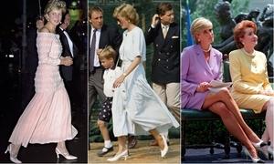 3 mẫu giày cao gót thập niên 1990 của Công nương Diana hot trở lại