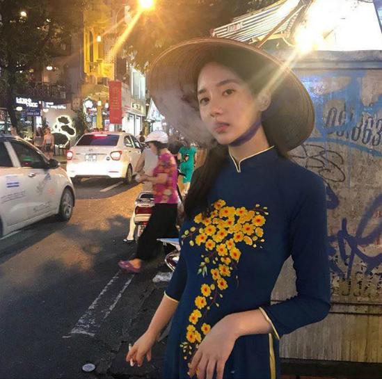 Bức ảnh của Han Seo Hee khiến cộng đồng khán giả Việt dậy sóng.