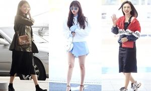10 sao Kpop có thời trang sân bay ấn tượng nhất 2018