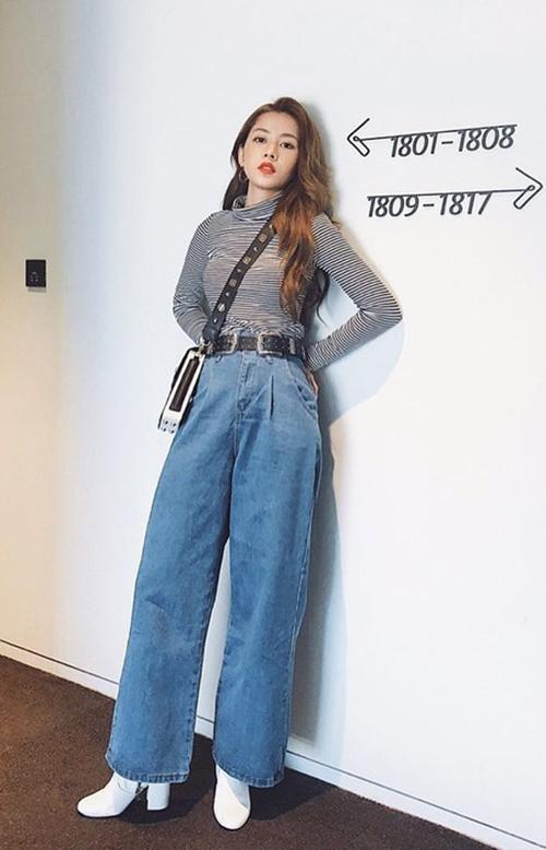 Chiếc quần hack chiều cao đáng kể cho Quỳnh Anh Shyn, Chi Pu - 2