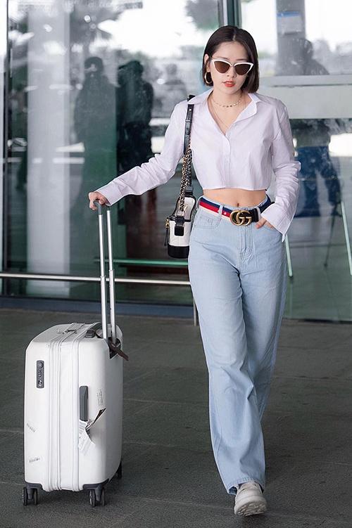 Chiếc quần hack chiều cao đáng kể cho Quỳnh Anh Shyn, Chi Pu - 4
