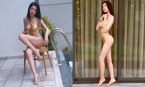 Độ sexy ngày một 'không đùa được' của Elly Trần