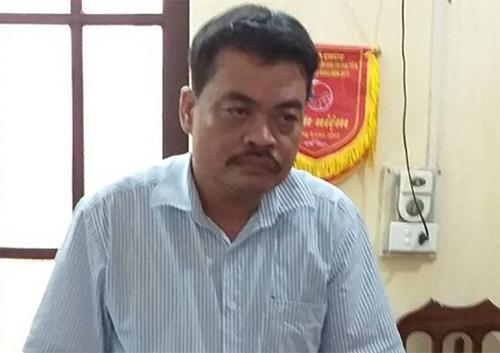 Ông Nguyễn Thanh Hoài. Ảnh: Công an Hà Giang
