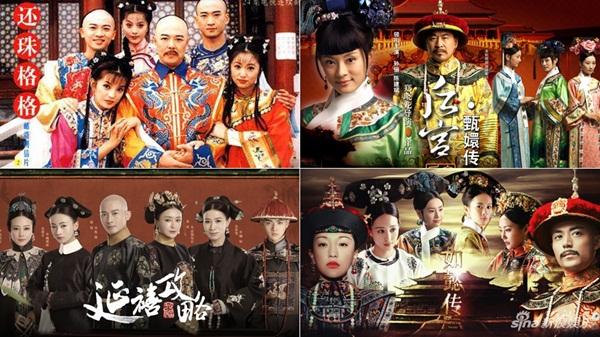 Diên Hy công lược có dàn nhân vật được lặp lại nhiều từ 3 bộ phim cổ trang cung đình khác.
