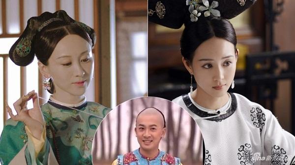 Nhân vật A Nghiên (trái) do Luyện Luyện thể hiện trong Diên Hy công lược và Hải Lan (Trương Quân Ninh) trong Như Ý truyện được lấy hình mẫu từ Du Quý phi, cũng chính là mẹ đẻ của Ngũ a ca trong Hoàn Châu cách cách.