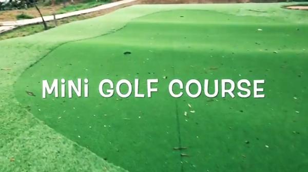 Nhà Minh Hải cósân golf mini cùngnhiều khu tiện ích vui chơi khác.