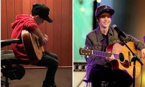 Con trai út nhà Becks gây tranh cãi khi được gọi là 'Justin Bieber thứ hai'