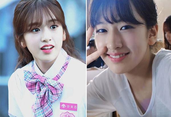 Vốn sở hữu đôi mắt sáng, Yoo Jin cũng ít khi đeokính áp tròng để gương mặt tự nhiên nhất có thể. Để mắt thêm to tròn, cô nàng thường dùng miếng dán kích mí.