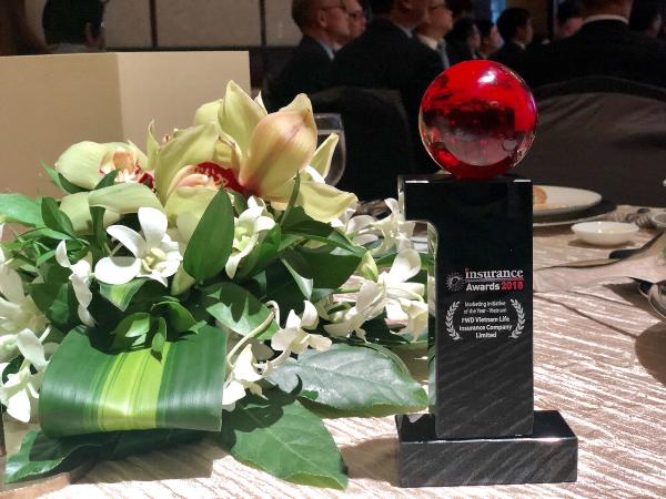 Công ty bảo hiểm đầu tiên của Việt Nam đạt giải thưởng Sáng kiến Marketing của Năm khu vực Châu Á