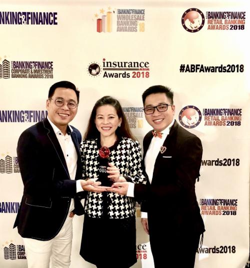 Công ty bảo hiểm đầu tiên của Việt Nam đạt giải thưởng Sáng kiến Marketing của Năm khu vực Châu Á - 2