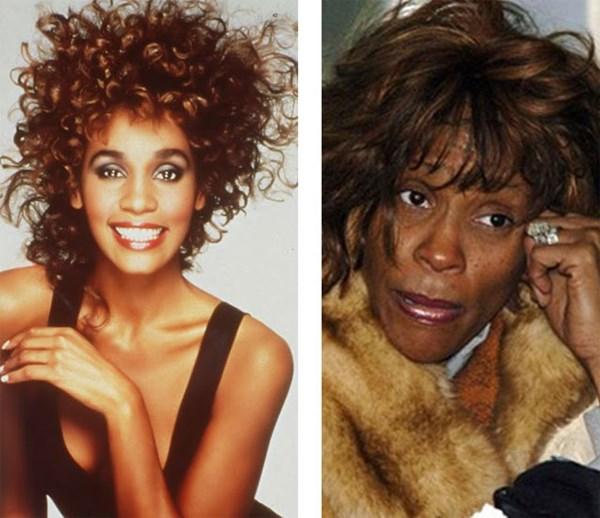 Whitney Houston gây nhiều tiếc nuối với đời tư nghiện ngập.