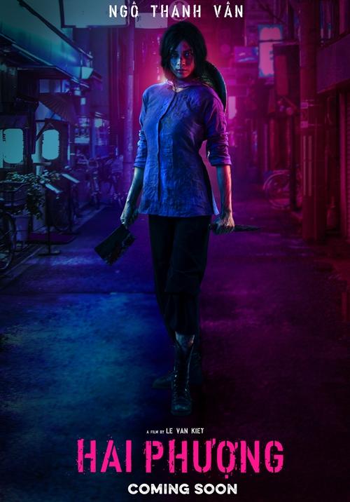 Hình ảnh của Ngô Thanh Vân trong Hai Phượng được hé lộ trong poster mới.