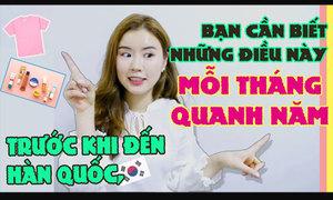 Trước khi đến Hàn, bạn nên biết những điều này