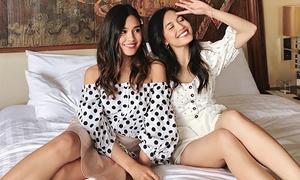 Cặp chị em rich kids Việt sành điệu thường xuyên bị nhầm là gái Tây