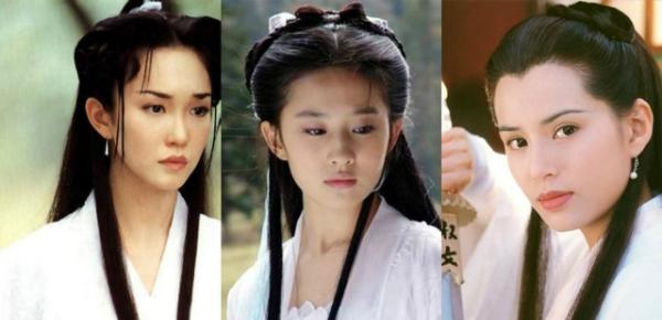 3 nữ diễn viên từng thủ vai Tiểu Long Nữ rất thành công.