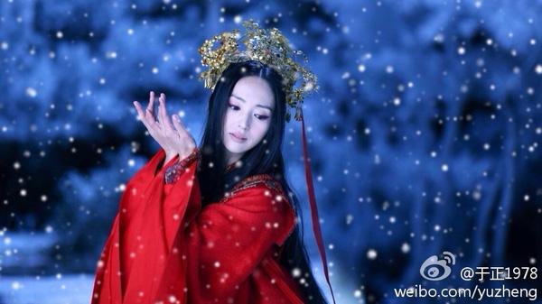 Nhan sắc làm lay động lòng người của diễn viên Đổng Tuyền.
