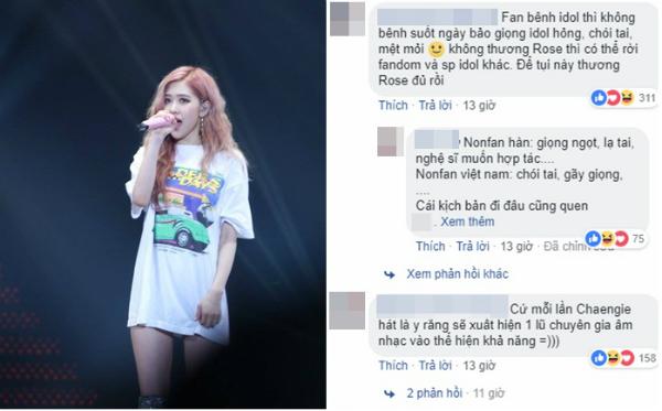 Fan Việt tranh cãi gay gắt về tiết mục của Rosé.