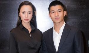 'Cặp đôi tin đồn' Vũ Ngọc Anh - Cường Seven tình tứ giữa sự kiện