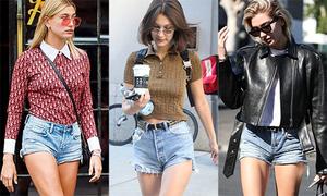 Các It Girls Hollywood sexy khó rời mắt khi diện quần jeans '5 cm'