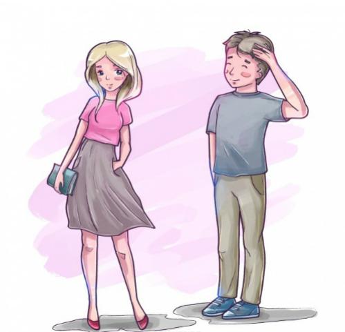 Những phản ứng của cơ thể tố cáo hai bạn đang thích nhau - 1