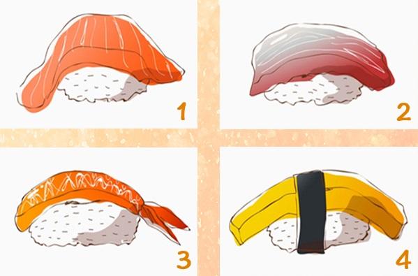 Trắc nghiệm: Đo lường chỉ số bám dính khi yêu của bạn với món sushi