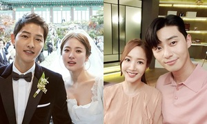 5 điểm trùng hợp giữa cặp Park Min Young - Park Seo Joon với chuyện tình Song - Song